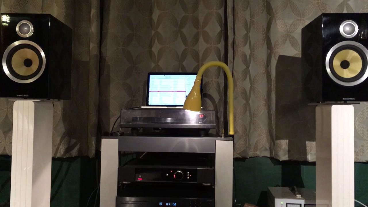 part-2 Rega elicit-r, b&w cm5 s2, audiolab 8200cd. playing ...