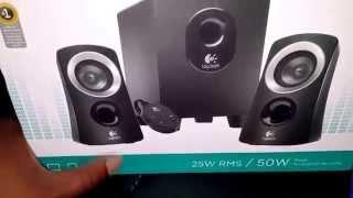 Logitech Z 313 Speakers for my Laptop Table #BGTechLife