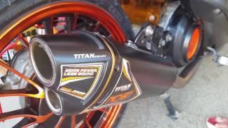 Mio Sporty 160cc NOB1 TITAN Muffler
