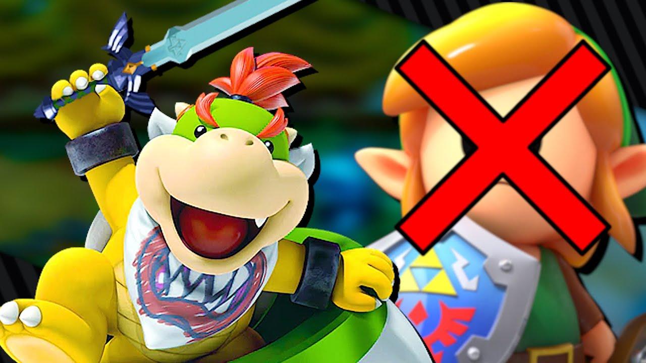 Link's Awakening But It's Actually Bowser Jr