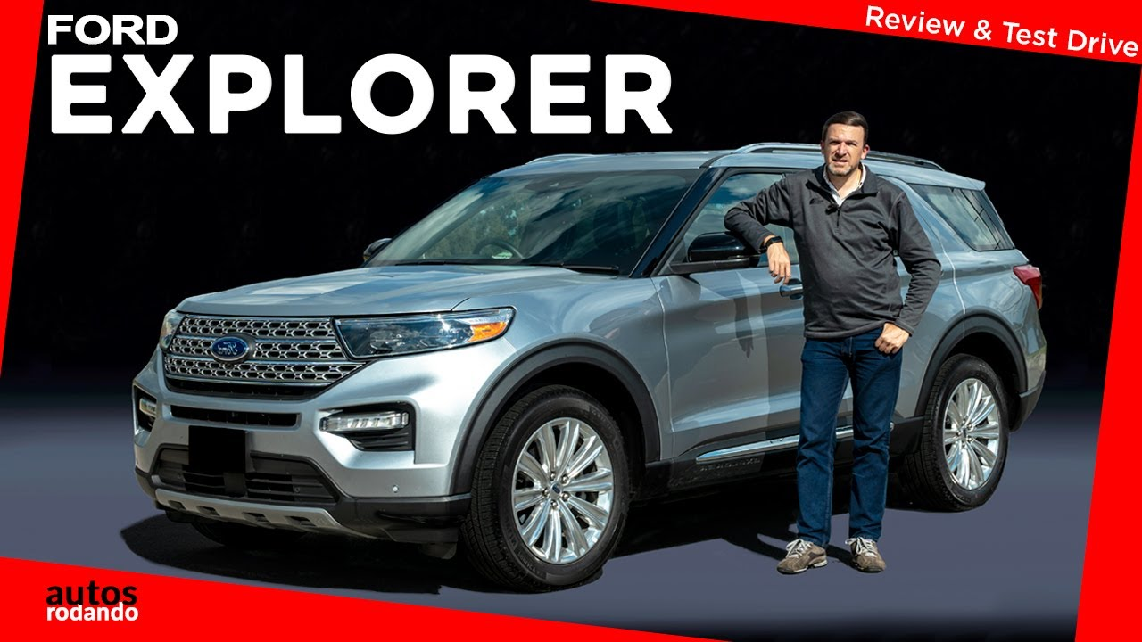 2021 The Ford Explorer First Drive
