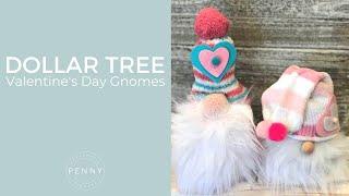 Dollar Tree Valentine's Day Gnomes