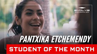 Evolve MMA | Student of the Month: 21-year-old Pantxika Etchemendy