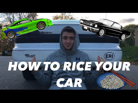 HOW TO RICE YOUR CAR!! – My rice mods Ep.1