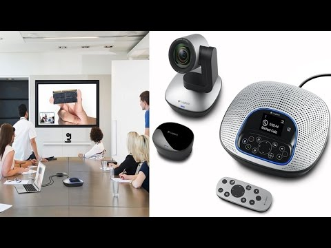 Logitech ConferenceCam HD Video and Audio Conferencing System With Enterprise Quality Video Camera
