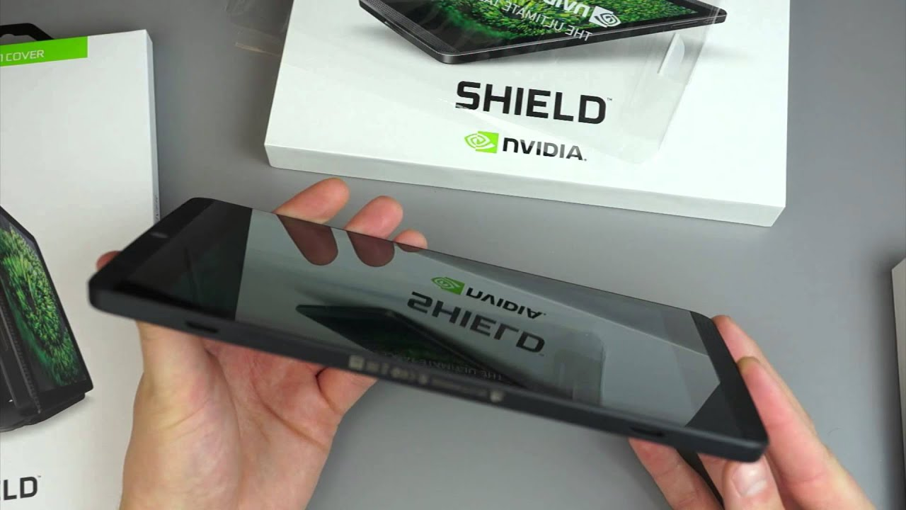 SHIELD Tablet: Built For Gamers - YouTube