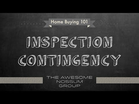 How to buy Real Estate in Seattle - Inspection Contingency