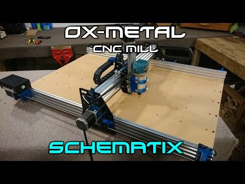 How To Make: The OX-Metal CNC Router Mill (Complete build)