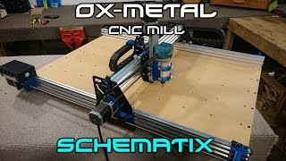 how to make the ox metal cnc router mill complete build