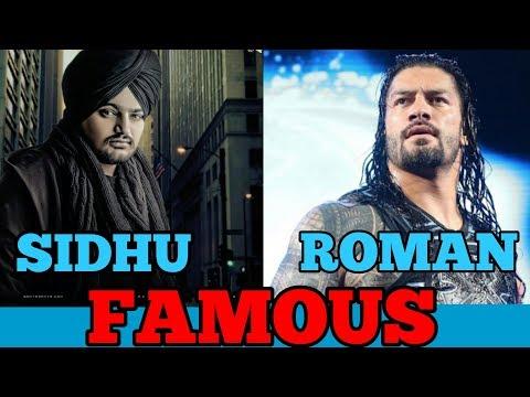 Roman Reigns - Famous ft. Sidhu Moosewala...