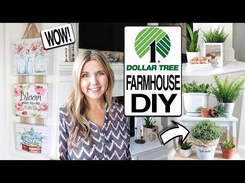 DOLLAR TREE DIY  🌸 SPRING FARMHOUSE DECOR