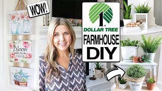 DOLLAR TREE DIY  🌸 SPRING FARMHOUSE DECOR