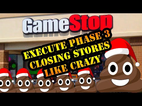Gamestop Stores Are Closing All Over The Place