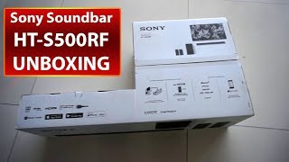 HT-S500RF Sony Soundbar 5.1Ch Surround Sound Home Theater System Unboxing