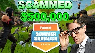 $500k Fortnite Winner Accused Of Cheating And Scamming Epic!