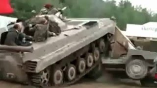 Tank fail compilation Heavy equipment accident.
