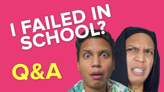 What was my percentage in school? | Kyun&A | Q&A | Vishal Langthasa