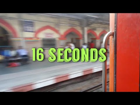 Mahabodhi express skips hathras full station in 16 seconds