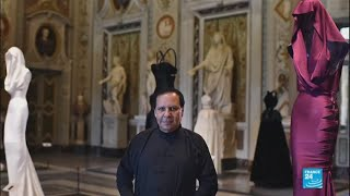 Dignitaries attend the funeral of renowned French-Tunisian designer Azzedine Alaia