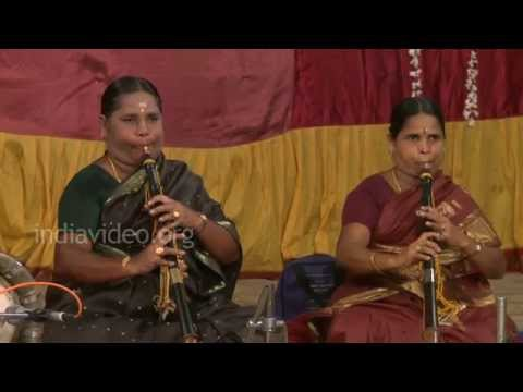 Nagaswaram Recital by female artiste at Thirugukkungudi