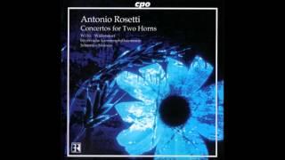 František Antonín Rossler-Rossetti Concertos for 2 Horns
