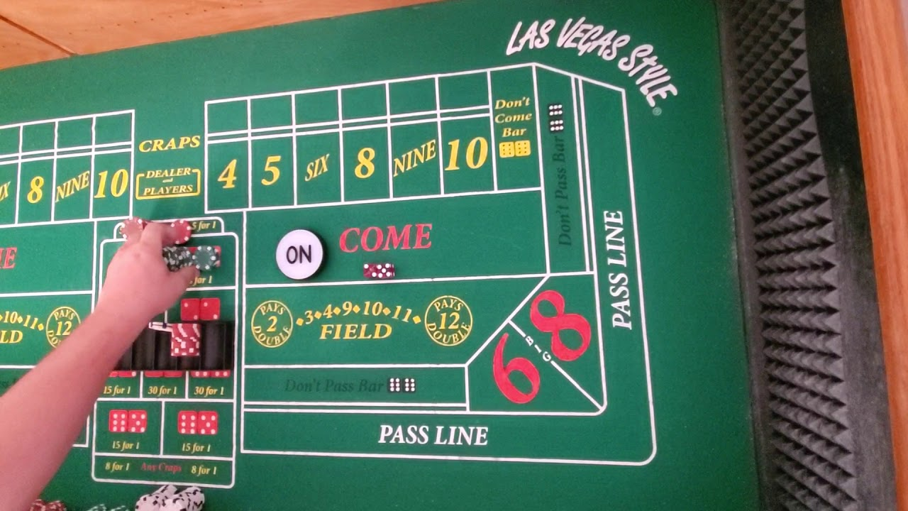 Playing Craps Strategy
