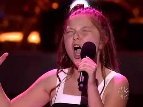 "Bianca Ryan ""And I Am Telling You I'm Not Going"" Jennifer Hudson - America's Got Talent"