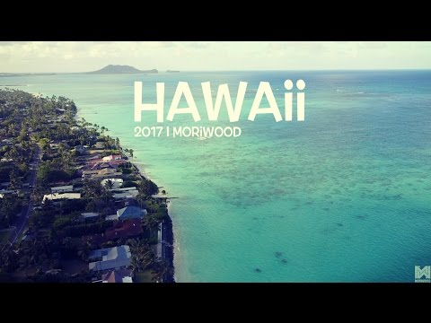 Hawaii 2017 Footage in 4K - Lanikai, Honolulu, North Shore