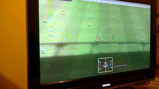 PES2011 Wii gameplay