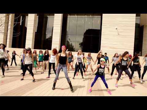 Melody Dancefit Flashmob - SXSW 2015 - Dillon Francis and DJ Snake