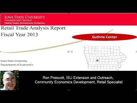 Guthrie Center, Iowa Retail Trade Aalysis Report