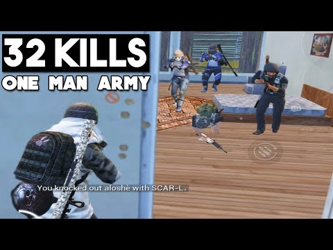 NEW RECORD ON ERANGEL | 32 KILLS Solo vs Squad | PUBG Mobile