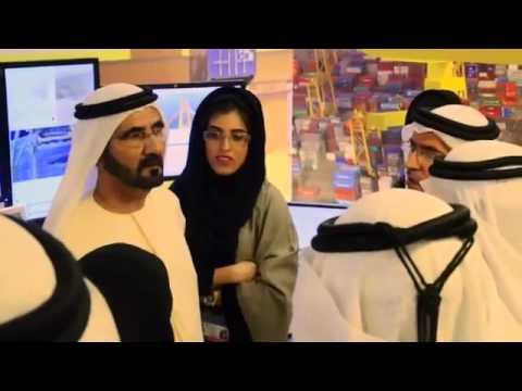 Visit of HH Sheikh Mohammed Bin Rashid Al Maktoum to Container Terminal 3 at Jebel Ali Port