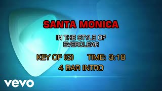Everclear - Santa Monica (Karaoke)