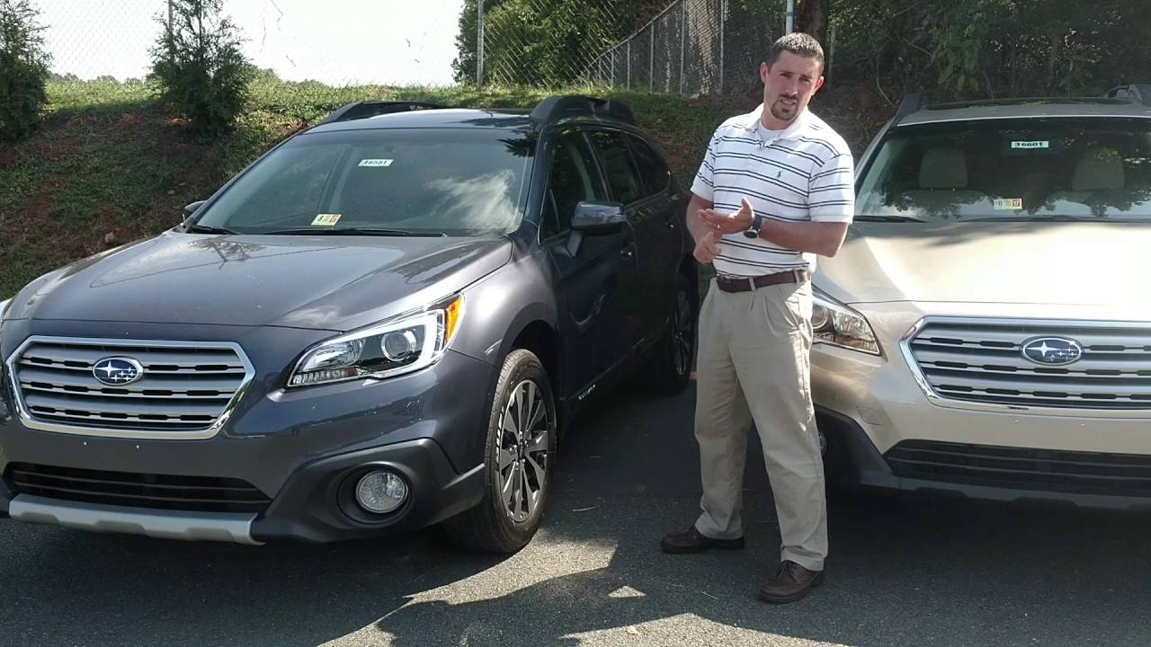 2017 Subaru Outback Trim Levels Options