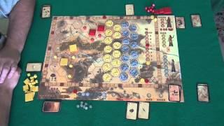 Assyria 1/1 - играем в настольную игру, board game