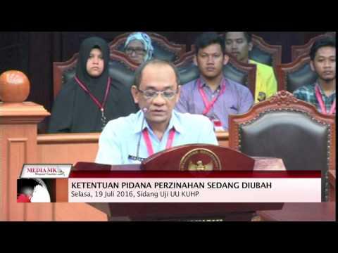 -Uji Pasal Zina Dalam KUHP, Pemerintah Anggap Pemohon Tak Miliki Legal Standing