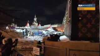 Riesenärger um Riesenkoffer: Abriss des Louis-Vuitton-Pavillons am Roten Platz