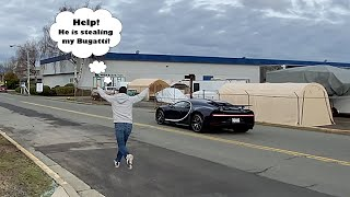 My Detailer stole my Bugatti Chiron Sport! * Porsche 918 / RWB Prize Giveaway*