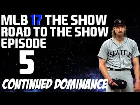 MLB 17 The Show {PS4} - Randy Johnson Road to the Show - Dominating!!