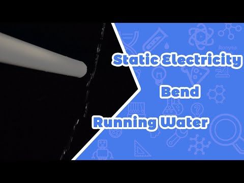 Static Electricity Bend Running Water Science Fair Project
