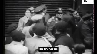 Nationalist Riots, Early 1930s Spain, Documentary