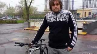 как научиться кататься на велосипеде 2013  Олег  Veloezda ru