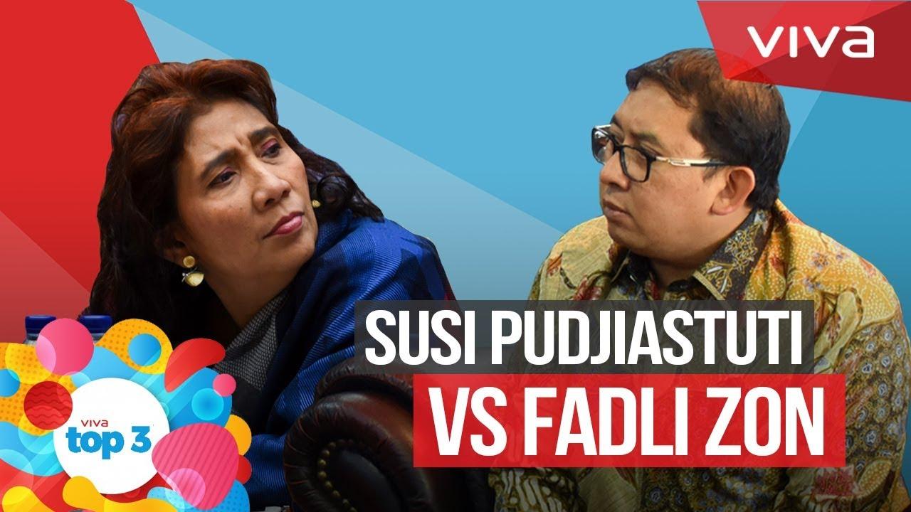 VIVA Top3  Susi Pudjiastuti VS Fadli Zon e5aedc0ec5