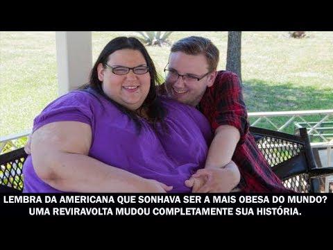 Lembra da americana que sonhava ser a mais obesa do mundo Uma reviravolta mudou completamente...
