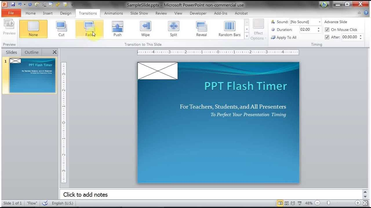 how to install ppt flash timer youtube