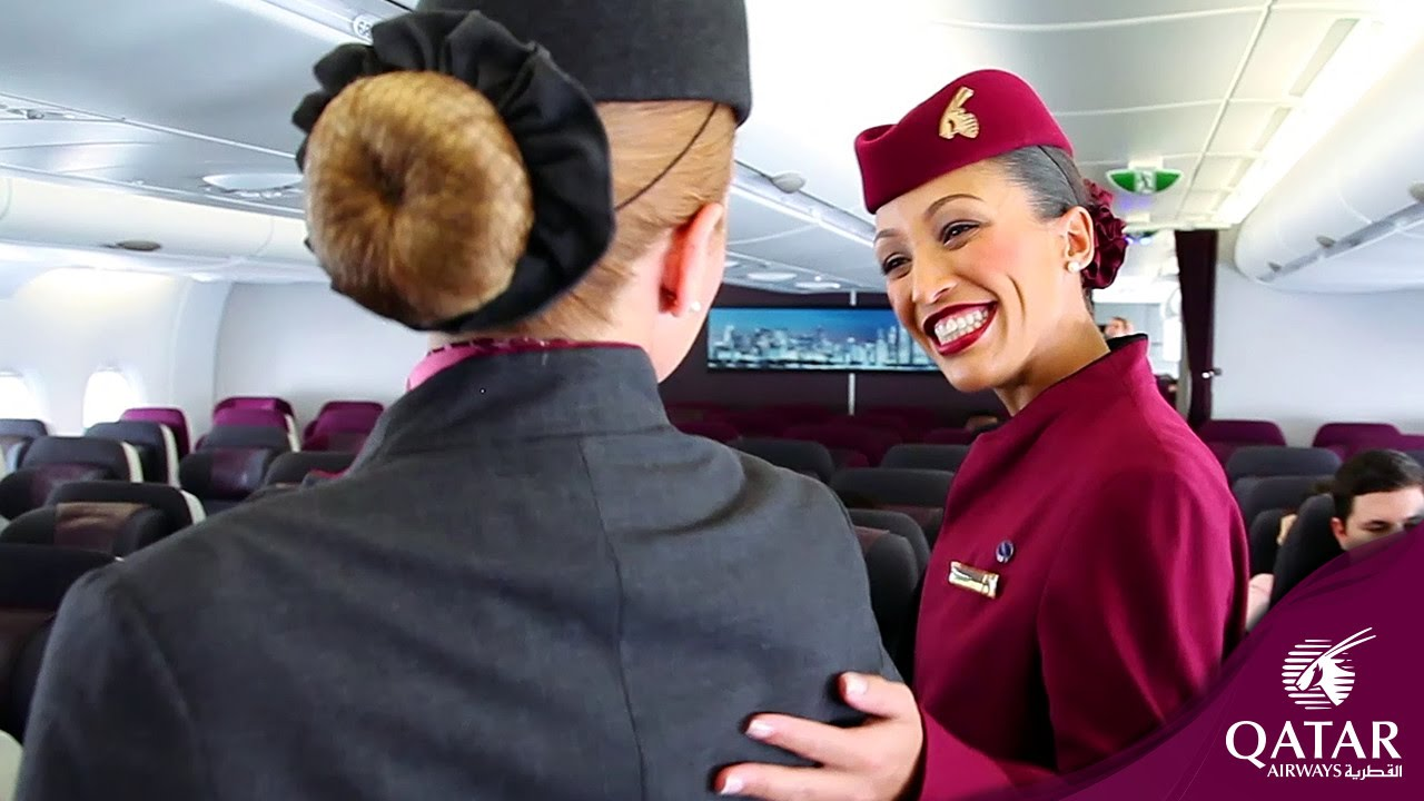 The Qatar Airways A380 - A Closer Look - YouTube
