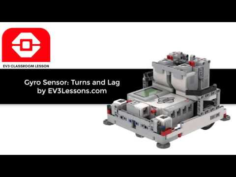 EV3 Classroom: Gyro Turns And Lag