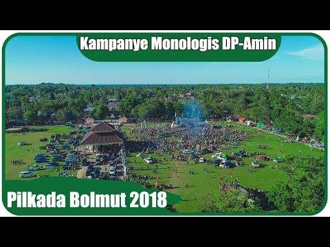 Kampanye Monologis Depri Amin (DP AMIN) Di Lapangan Kembar Boroko | Pilkada Bolmut