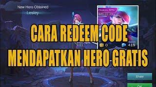 Video [BARU] Cara Redeem Gift Kode Mobile Legends download MP3, 3GP, MP4, WEBM, AVI, FLV Desember 2017